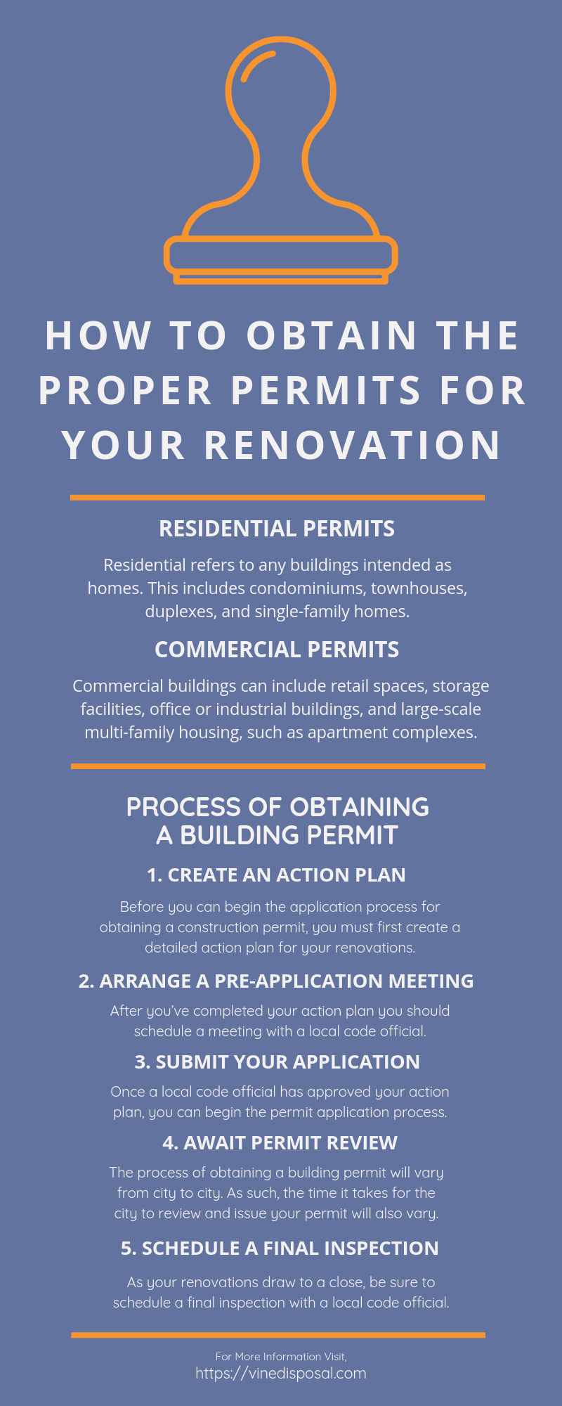 How to Obtain the Proper Permits for Your Renovation infographic