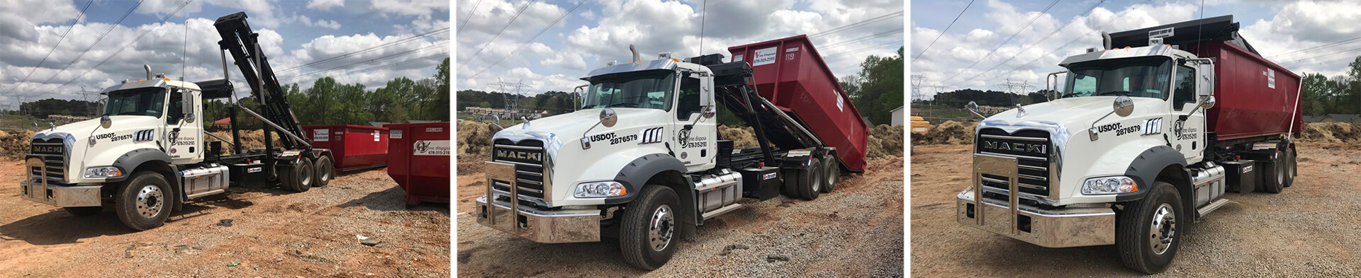 Dumpster rental in Adamsville