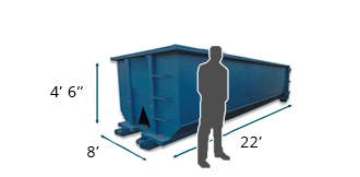 20-Cubic-Yard Dumpsters